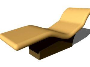 лежак для хамама из пенопласта