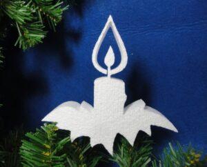 украшение свеча