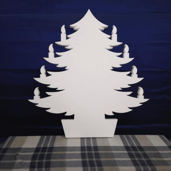 елка полистирол
