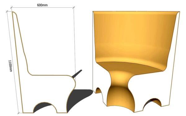 сиденье для хамама