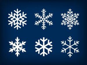 купить снежинки из полистирола