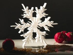 снежинка пенопласт