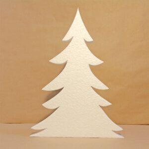 декор витрин елка