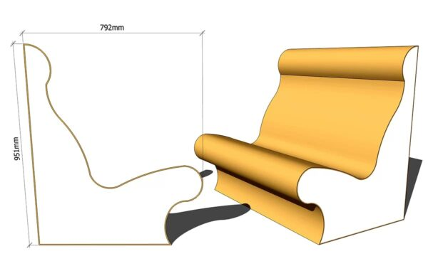 сиденье лежак для хамама