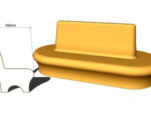 большое сиденье для хамама