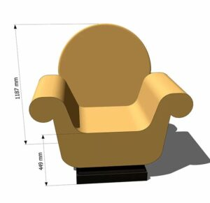 купить кресло из пенопласта