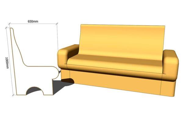 диван для хамама